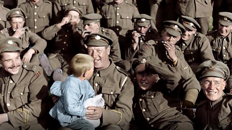 "Flicks: Peter Jackson for ""They Shall Not Grow Old"""