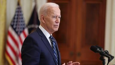 President Joe Biden's First News Conference
