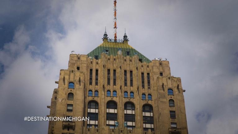 Destination Michigan: Fisher Building