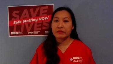 Nurse Discusses the Strain on LA Healthcare Workers