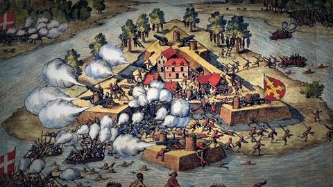 Secrets of the Dead -- Spanish and French Battle for Florida Fortress