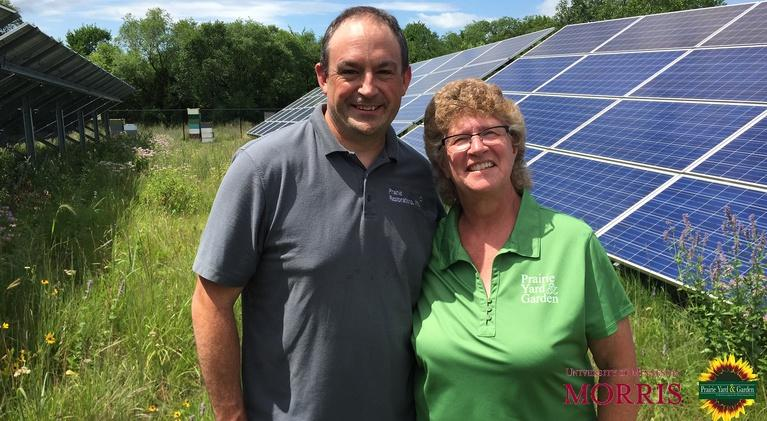 Prairie Yard & Garden: Bee-u-tiful Solar Energy