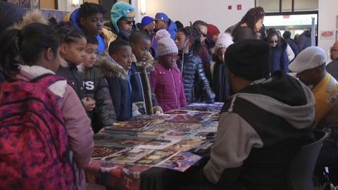 PBS NewsHour -- Black Comic Book Festival draws thousands in Harlem