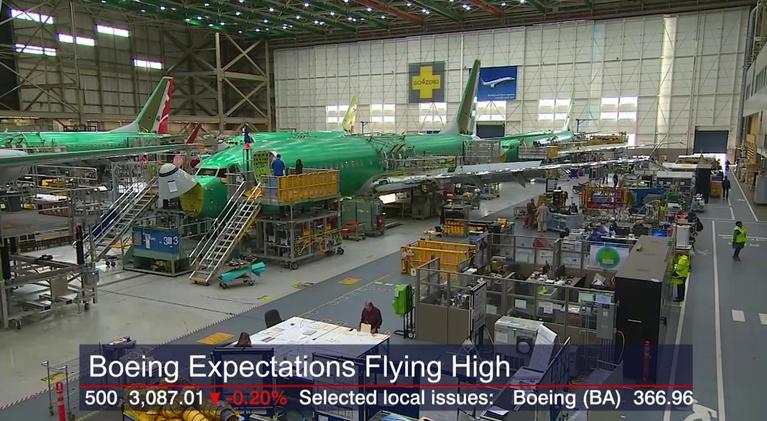Chicago Tonight: Crain's Headlines: Boeing's Stock Jumps as Optimism Grows