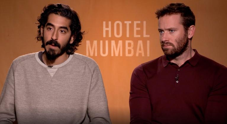 "Flicks: Dev Patel and Armie Hammer for ""Hotel Mumbai"""