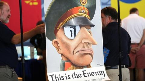 """Antiques Roadshow -- Appraisal: 1942 Koehler & Ancona """"This is the Enemy"""" Poster"""