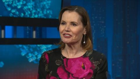 """Amanpour and Company -- Geena Davis and Tom Donahue on """"This Changes Everything"""""""