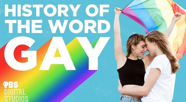 "Origin of Everything: History of the Word ""Gay"""