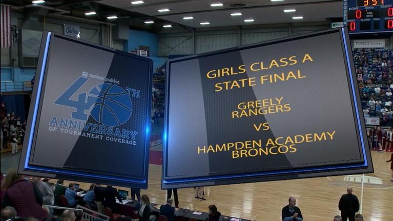 Maine High School Basketball Tournament: Greely vs. Hampden Girls Class A 2019 State Final