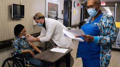 Vaccination, like tests, is a state-led effort in the U.S.