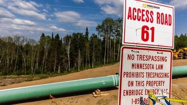 Pipeline battle brews between Indigenous tribes, oil company