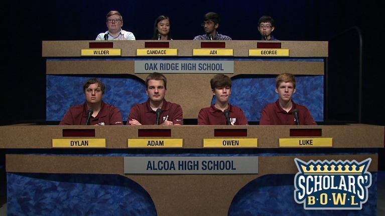 East Tennessee PBS Scholars' Bowl: Alcoa vs Oak Ridge