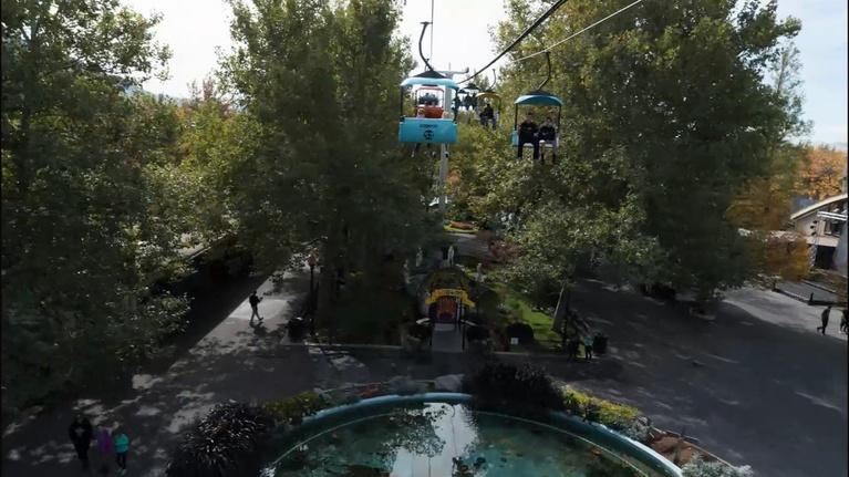 Utah History: Lagoon: Take the Sky Ride in 12 seconds!