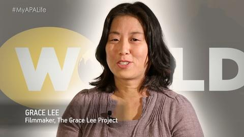 World Channel -- #MyAPALife with K-Town '92: Reporters's Grace Lee