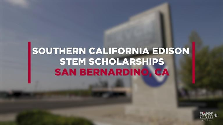 State of the Empire: Southern California Edison STEM Scholarships