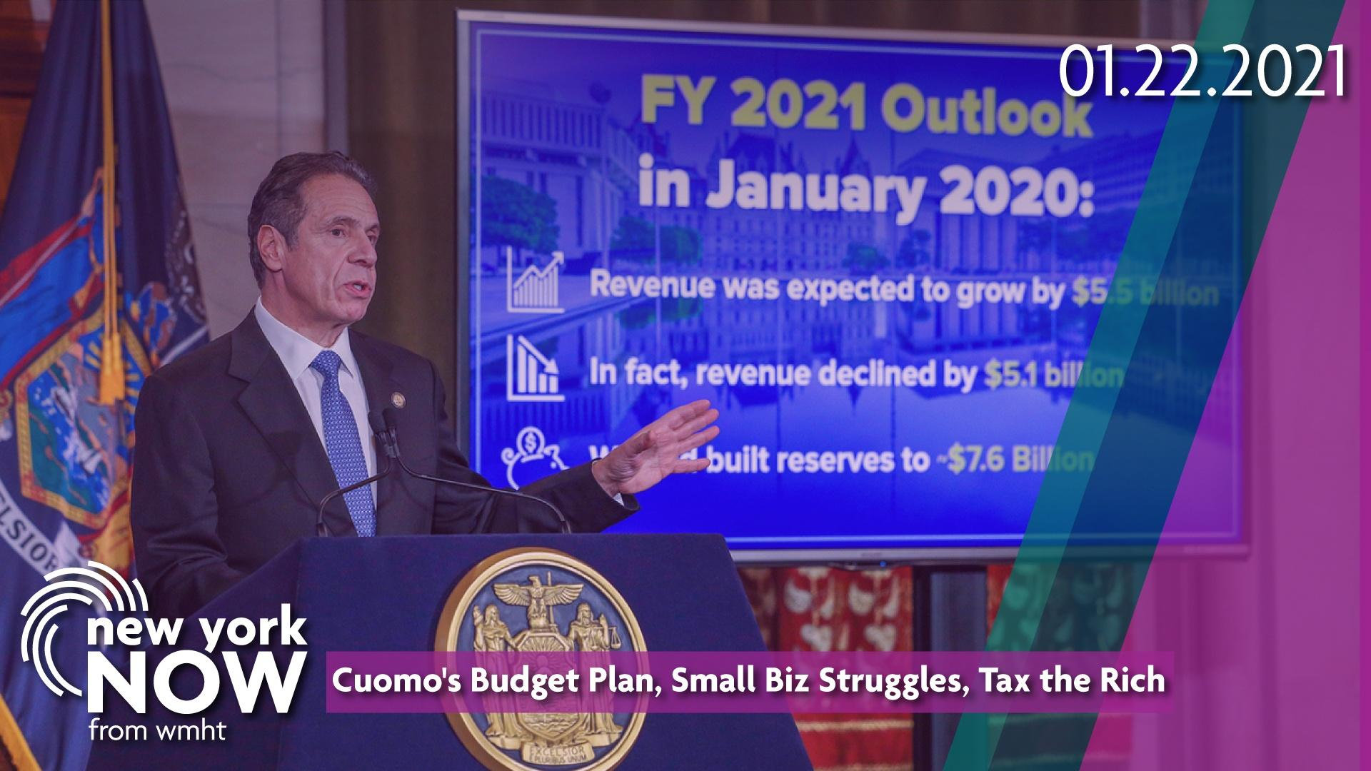 Governor Andrew Cuomo delivers his 2021 New York State Budget Address.