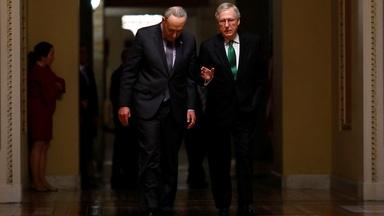 Schumer and McConnell on brink of agreement in debt talks