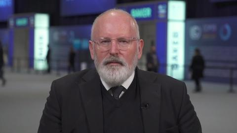Amanpour and Company -- Frans Timmermans on the EU's New Green Deal
