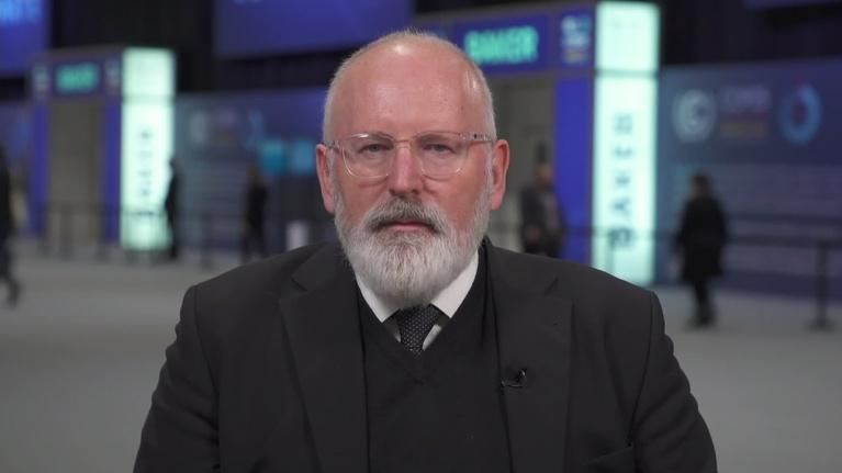 Amanpour and Company: Frans Timmermans on the EU's New Green Deal
