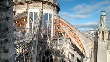 Stabilizing Notre Dame's Famous Buttresses