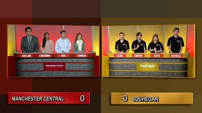 Granite State Challenge | Quarter Final 2 - Souhegan Vs Manchester Central
