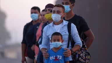 Thousands of asylum seekers still in limbo at Mexican border