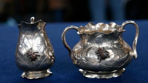 S24 E17: Appraisal: G.W. Shiebler Creamer & Bowl