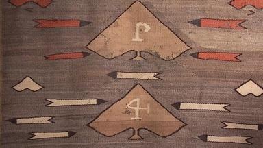 Appraisal: Navajo Pictorial Textile, ca. 1925