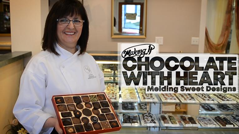 WVIZ/PBS ideastream Specials: Melding Chocolate and Community at Sweet Designs
