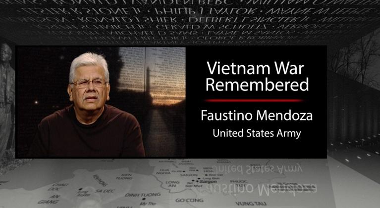 Vietnam War Remembered: Faustino Mendoza