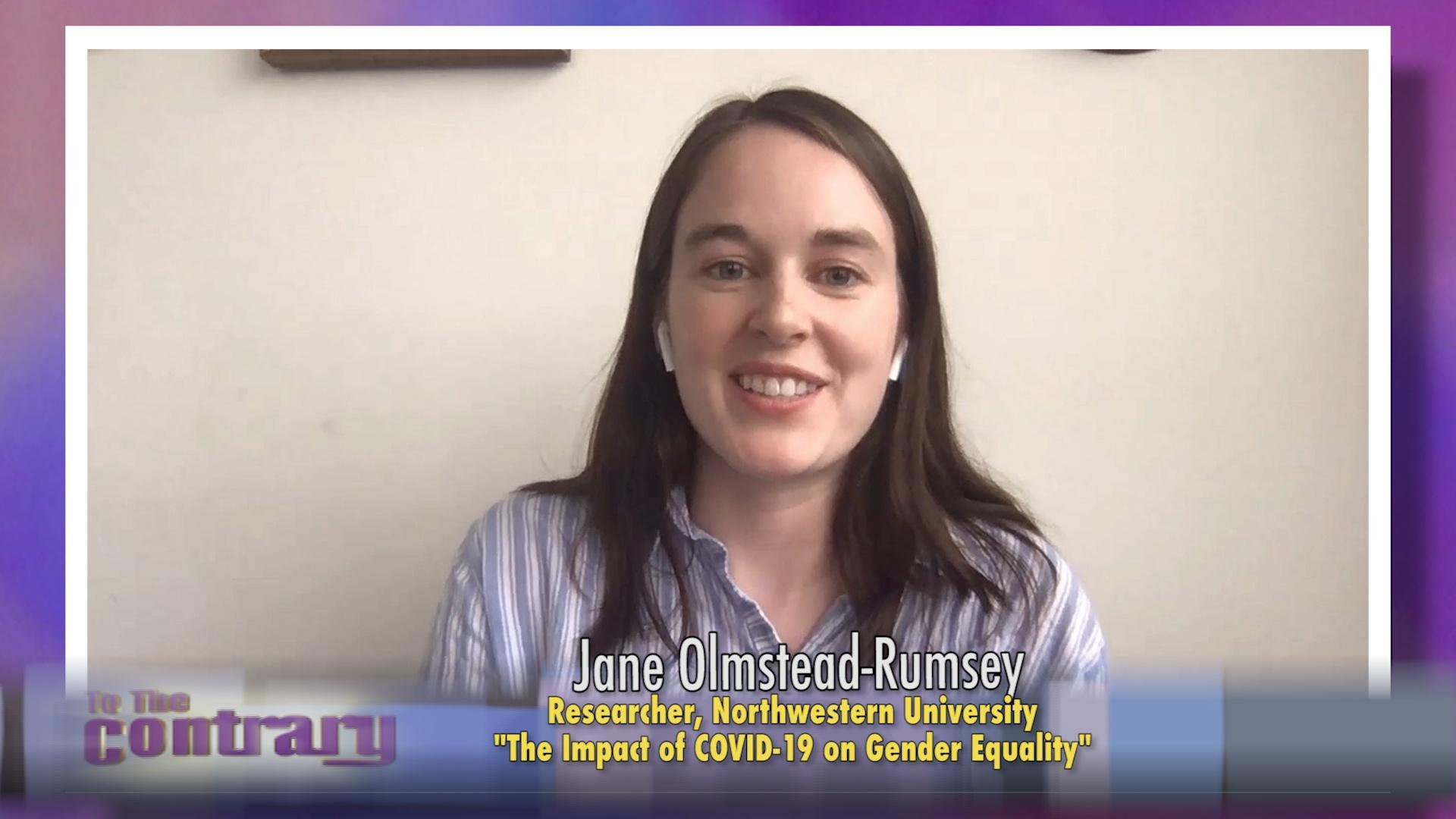 Woman Thought Leader: Jane Olmstead-Rumsey