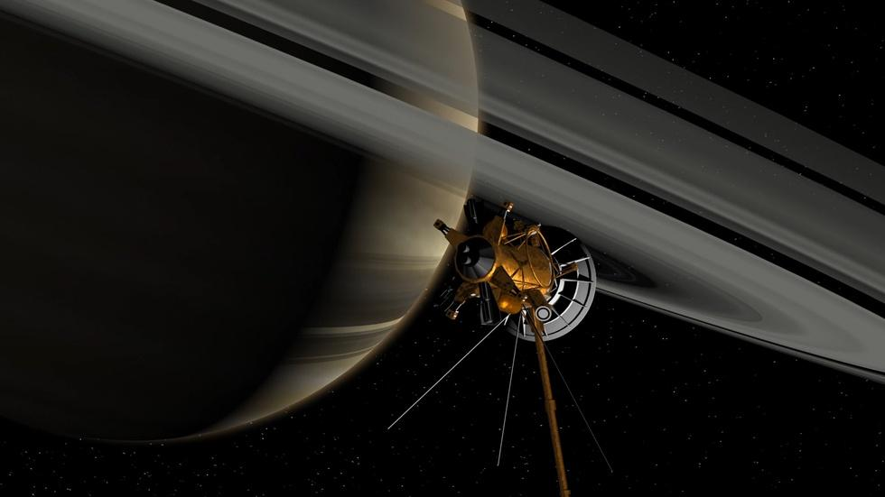 Saying Goodbye to Cassini image