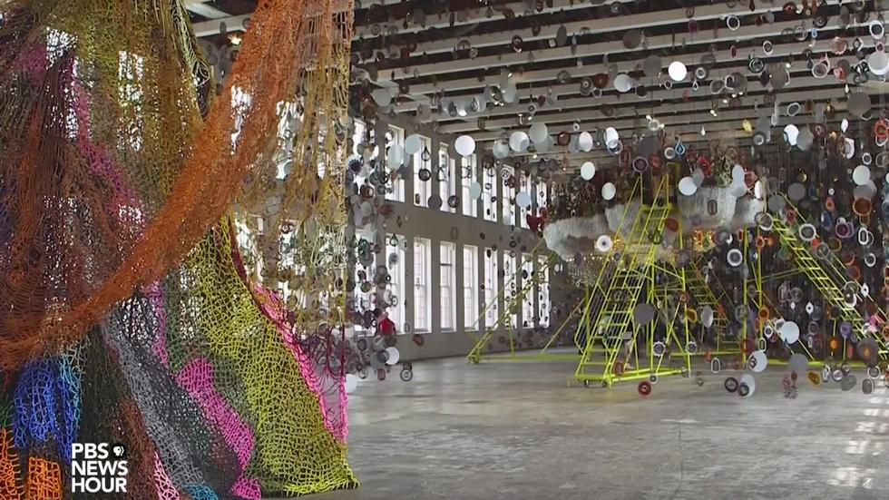 Can a contemporary art mecca anchor this industrial town? image