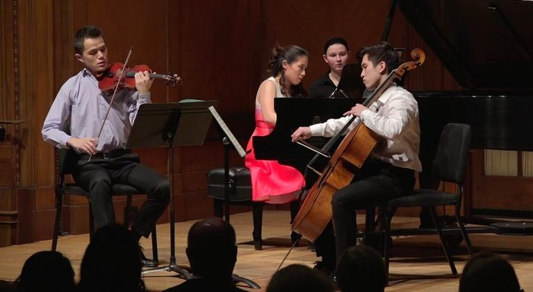 On Stage at Curtis: Romantic Debussy at 18