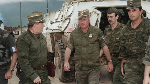 FRONTLINE -- The Trial of Ratko Mladić