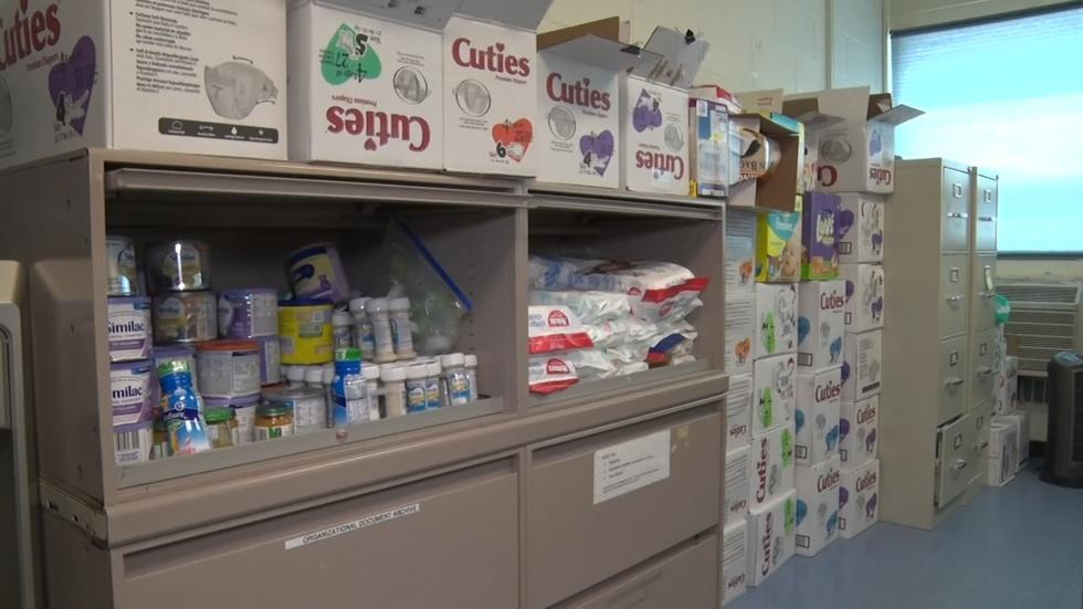 AECDC diaper bank assists families in need image