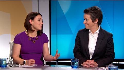 PBS NewsHour -- Tamara Keith and Amy Walter on Warren vs. Buttigieg in Iowa
