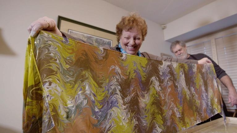 Broad and High: Water Marbling with Susan Liechty