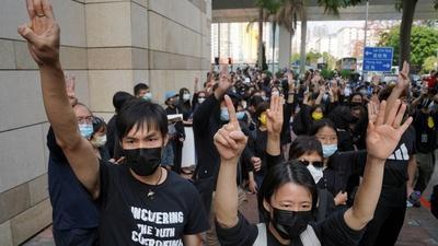 PBS NewsHour | Hong Kong police arrest authors of a children's book
