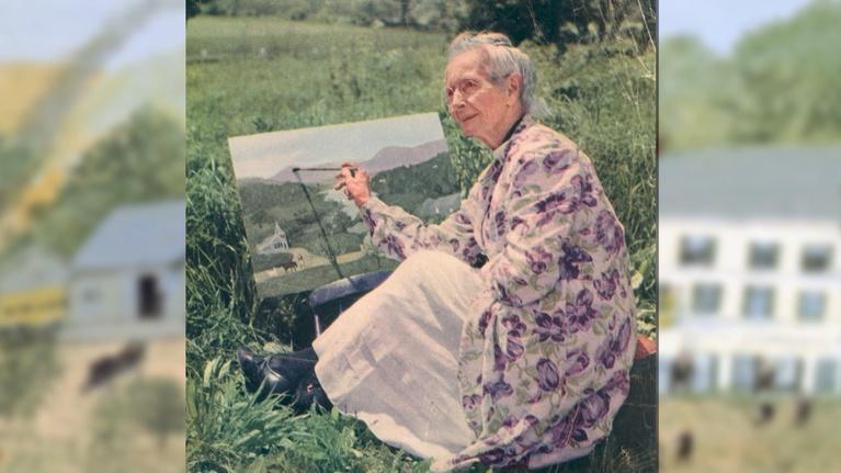 She Inspires: Grandma Moses