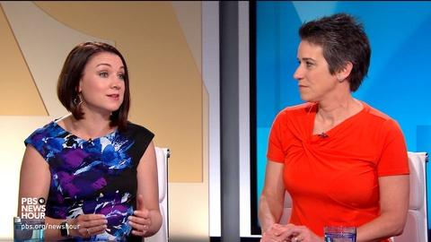 PBS NewsHour -- Tamara Keith and Amy Walter on Trump's tweet firestorm