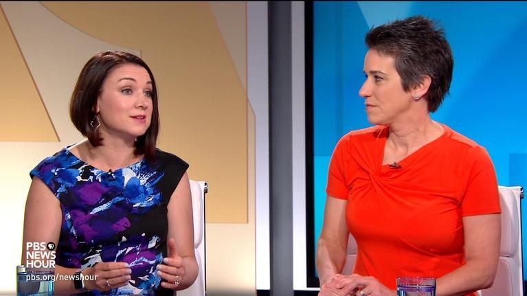 PBS NewsHour: Tamara Keith and Amy Walter on Trump's tweet firestorm