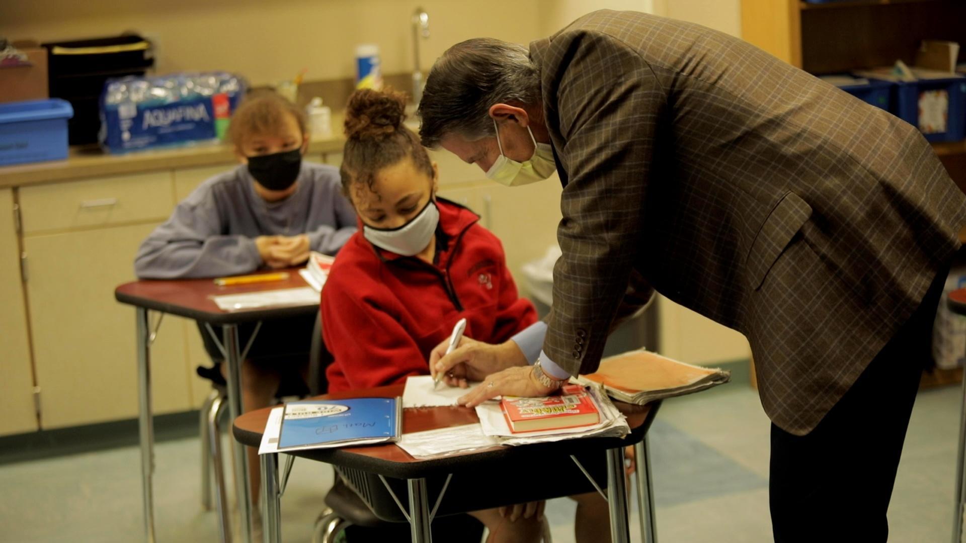 CEOs in Schools at Patricia J. Sullivan Partnership