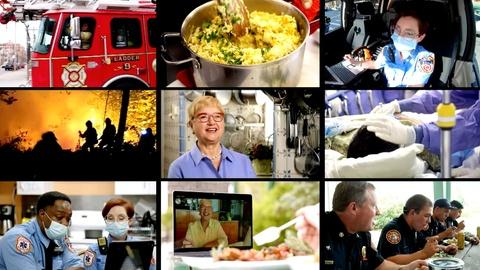 Lidia Celebrates America -- Lidia Celebrates America: A Salute to First Responders
