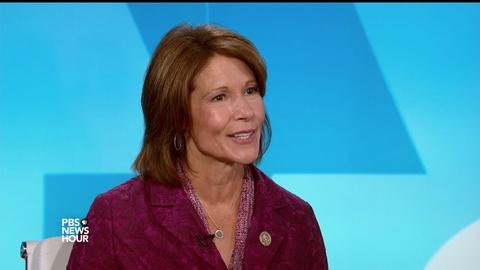 PBS NewsHour -- Bustos: Americans want to hear about values, not divisions