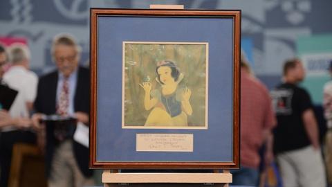Antiques Roadshow -- S21 Ep15: Appraisal: 1938 Walt Disney-signed Snow White Anim