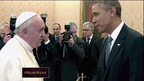 Washington Week -- From the Vault: President Obama Meets Pope Francis