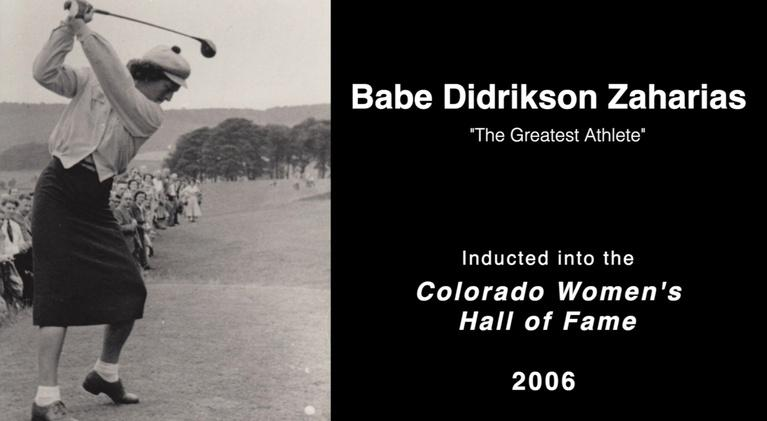 Great Colorado Women: Babe Didrikson Zaharias