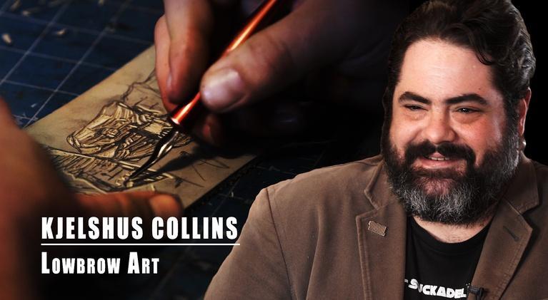 Gallery America: Kjelshus Collins: Low Brow Art