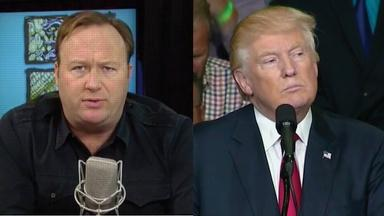 Alex Jones and Donald Trump
